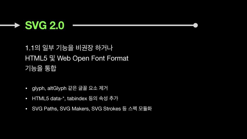 SVG 2.0 1.1 ੌࠗ ӝמਸ ࠺ӂ ೞѢա  HTML5 ߂ Web Open ...