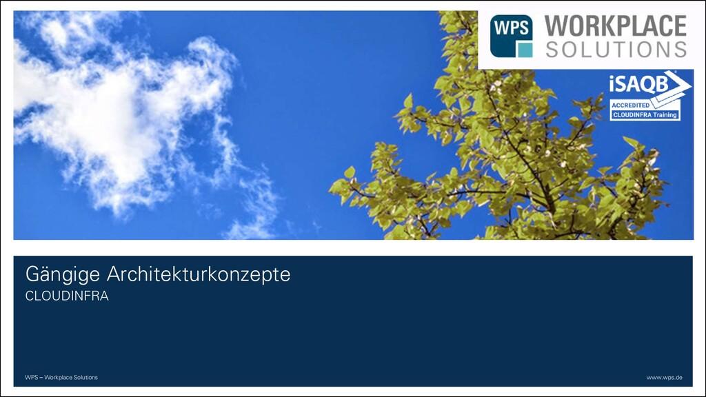 WPS – Workplace Solutions www.wps.de Gängige Ar...