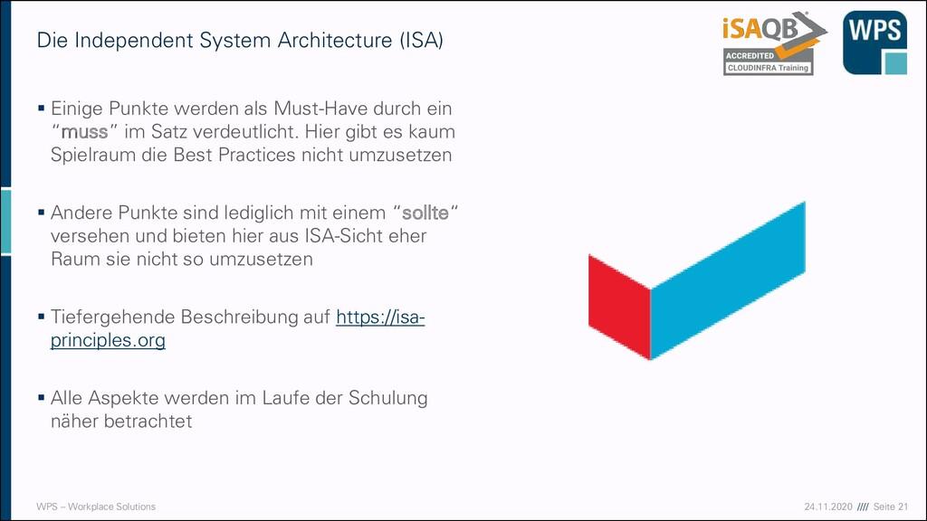 17.09.20 //// Seite 21 WPS – Workplace Solution...