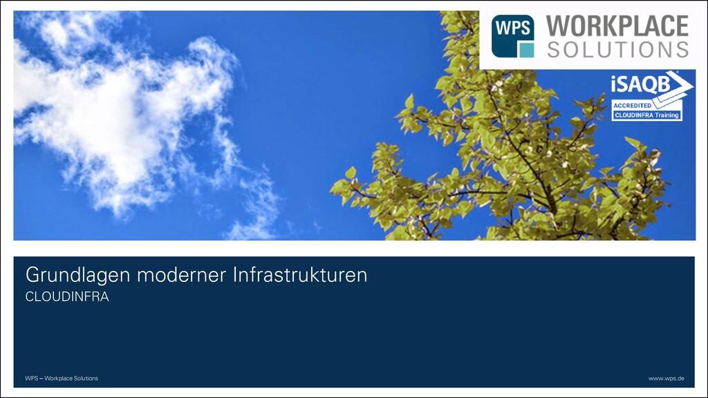 WPS – Workplace Solutions www.wps.de Grundlagen...