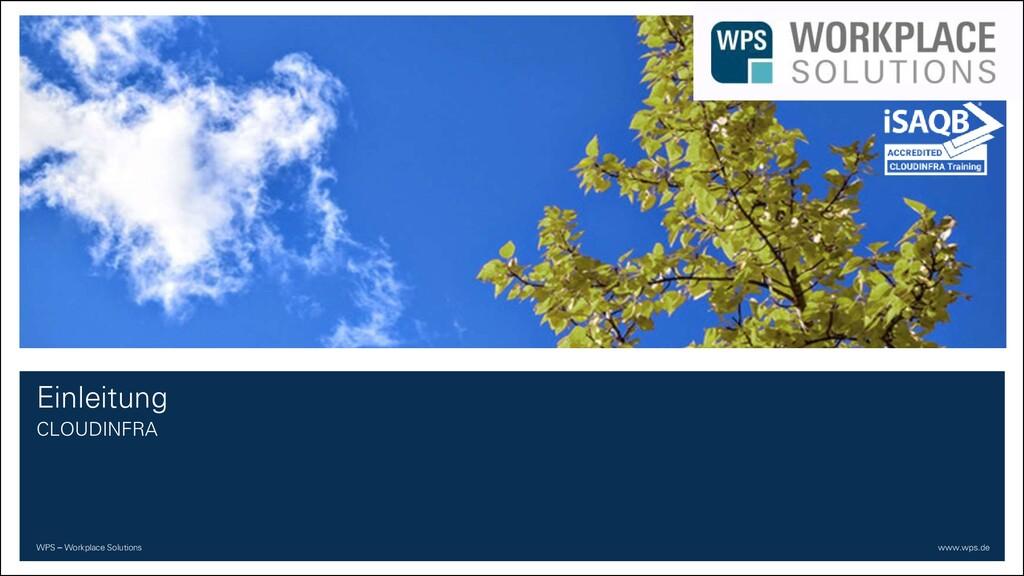 WPS – Workplace Solutions www.wps.de Einleitung...