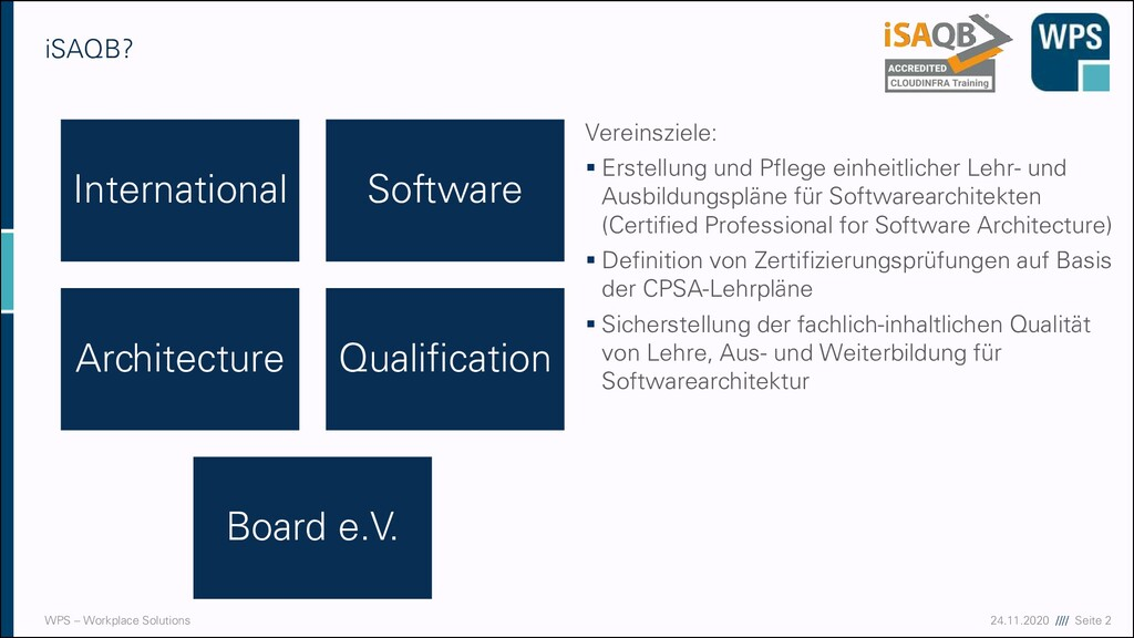 17.09.20 //// Seite 2 WPS – Workplace Solutions...