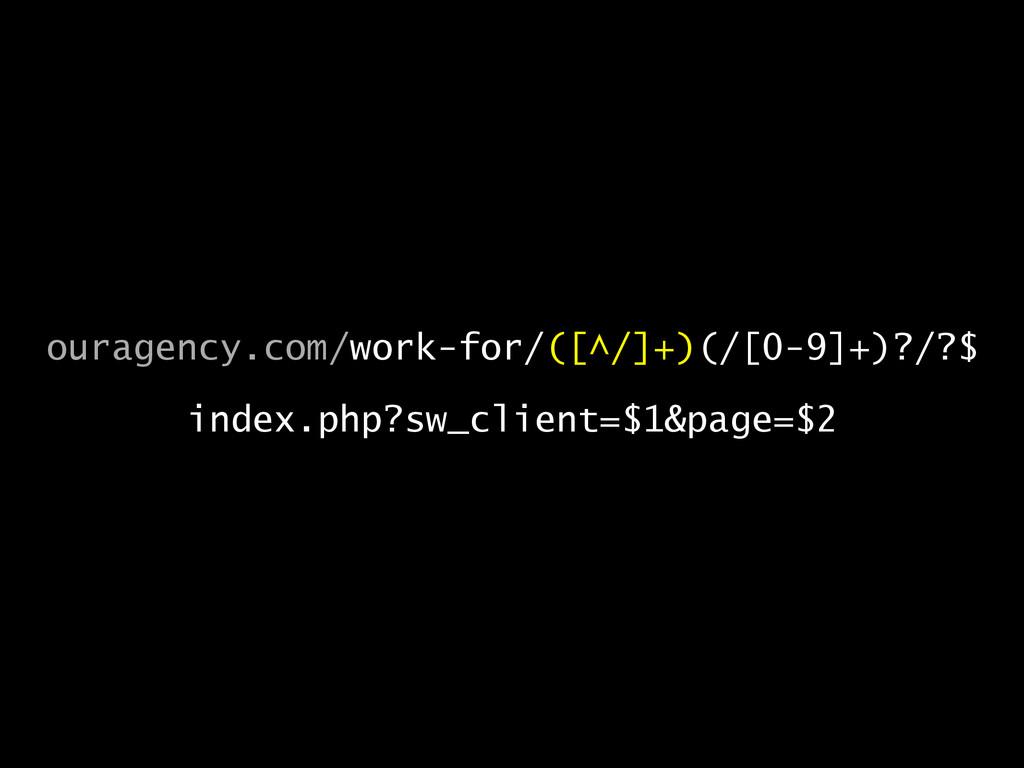 ouragency.com/work-for/([^/]+)(/[0-9]+)?/?$  i...