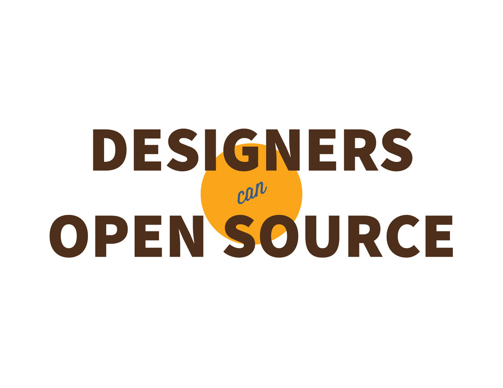 DESIGNERS OPEN SOURCE can