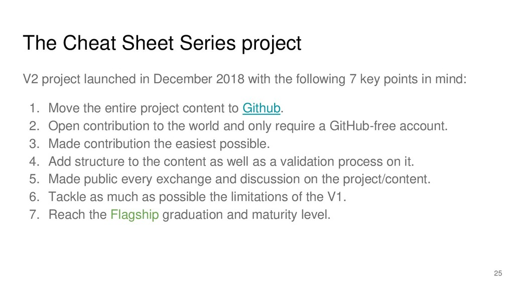 The Cheat Sheet Series project V2 project launc...