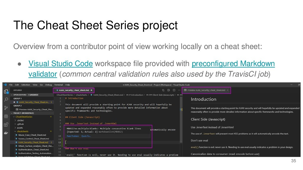 The Cheat Sheet Series project Overview from a ...