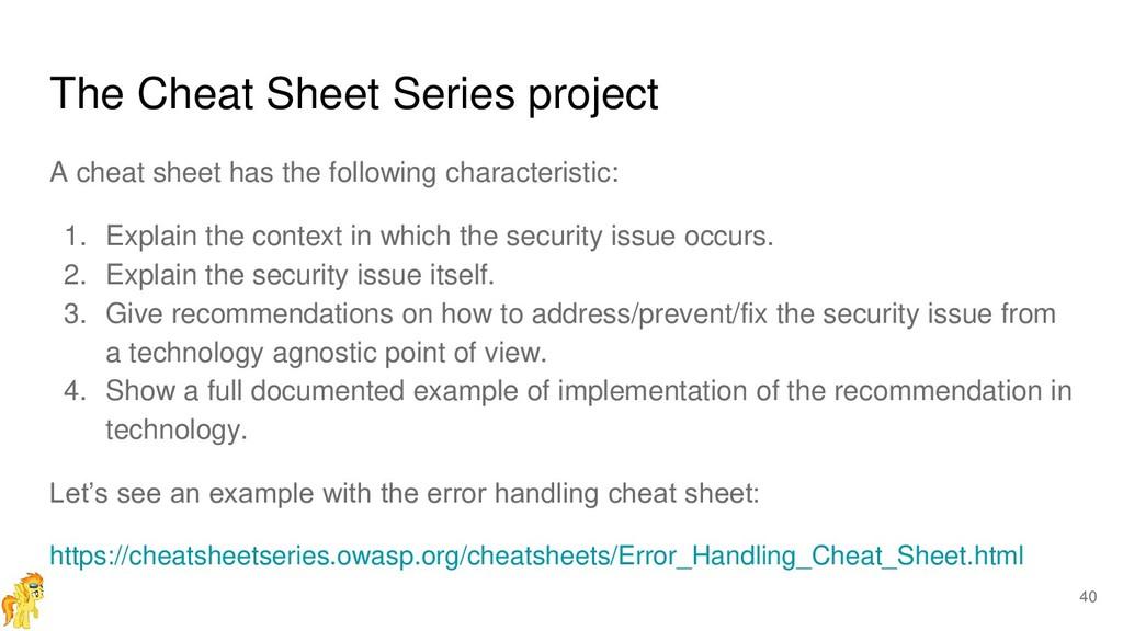 The Cheat Sheet Series project A cheat sheet ha...