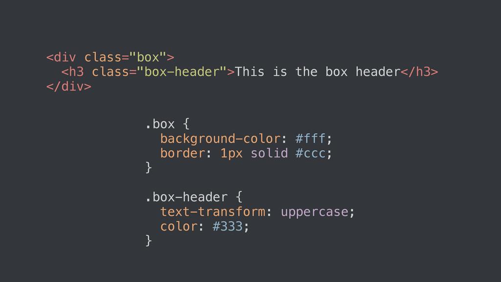 """<div class=""""box""""> <h3 class=""""box-header"""">This i..."""