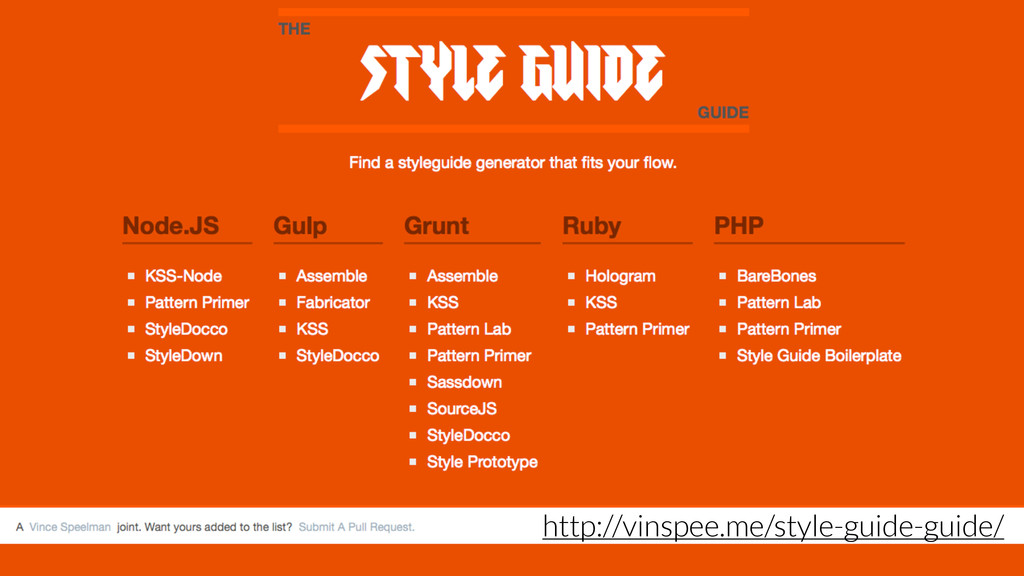 http://vinspee.me/style-guide-guide/