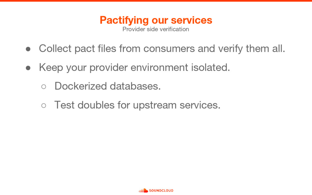 Pactifying our services Provider side verificat...