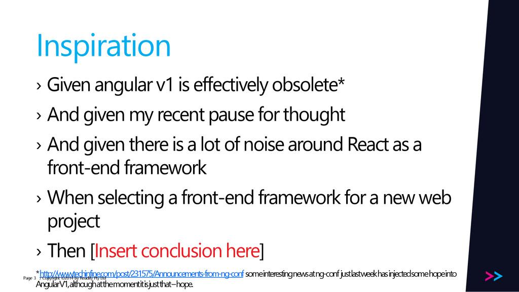 Page Inspiration › Given angular v1 is effectiv...