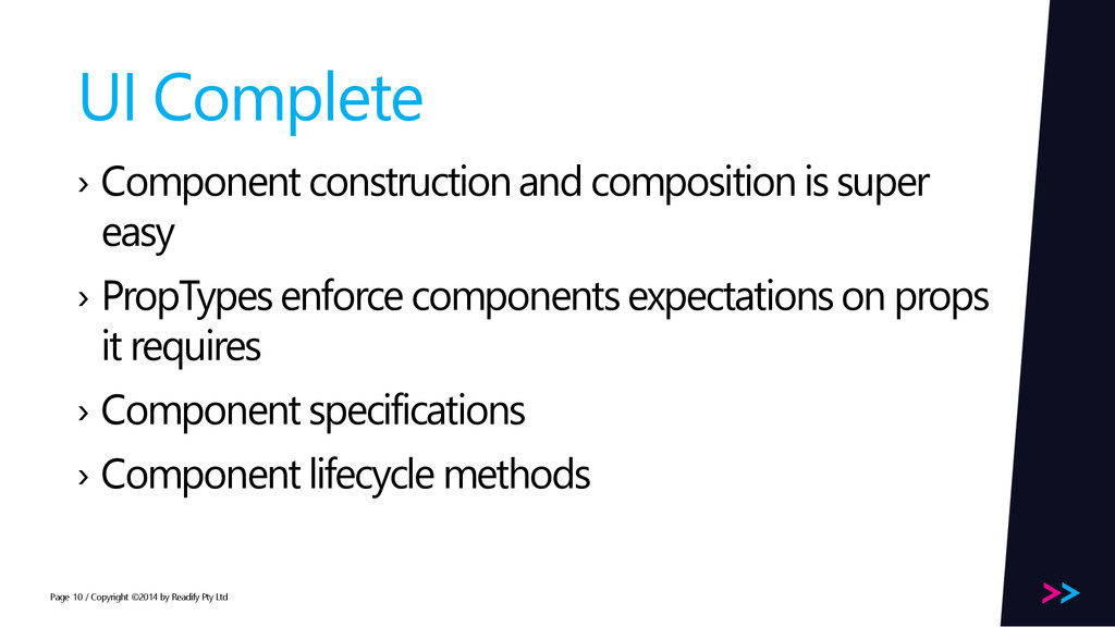 Page UI Complete › Component construction and c...