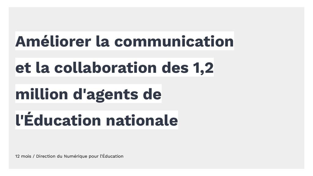 Améliorer la communication et la collaboration ...