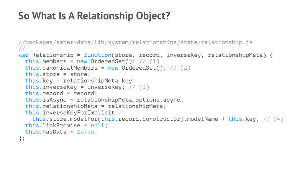 So What Is A Relationship Object? //packages/em...