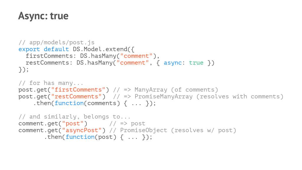 Async: true // app/models/post.js export defaul...