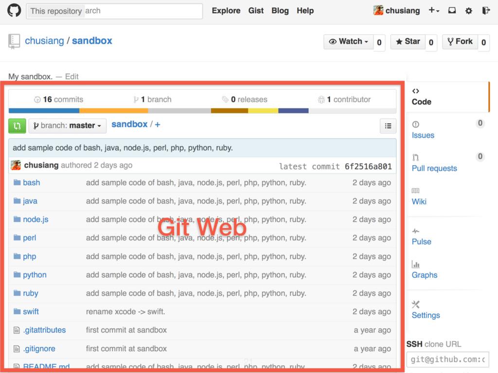 Git Web 21