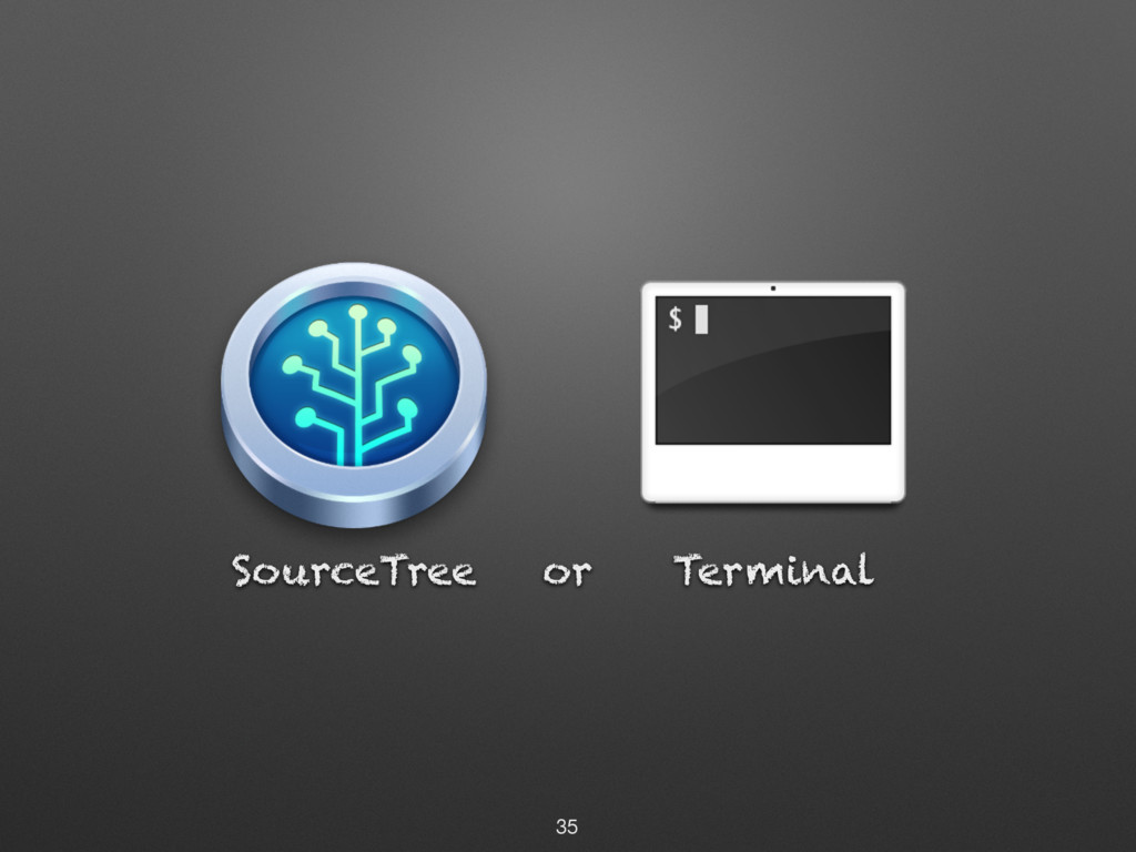SourceTree Terminal or 35