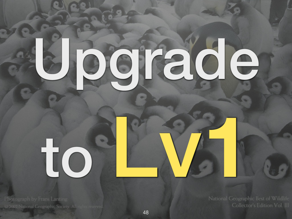 Upgrade to Lv1 48