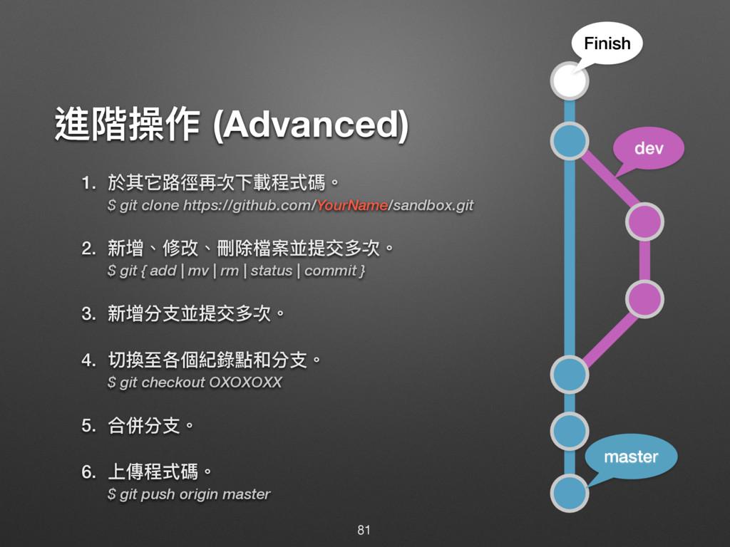 蝱褩砺֢ (Advanced) 1. ෝٌਙ᪠䕩ٚ稞ӥ斉纷ୗ嘨牐 $ git clone h...