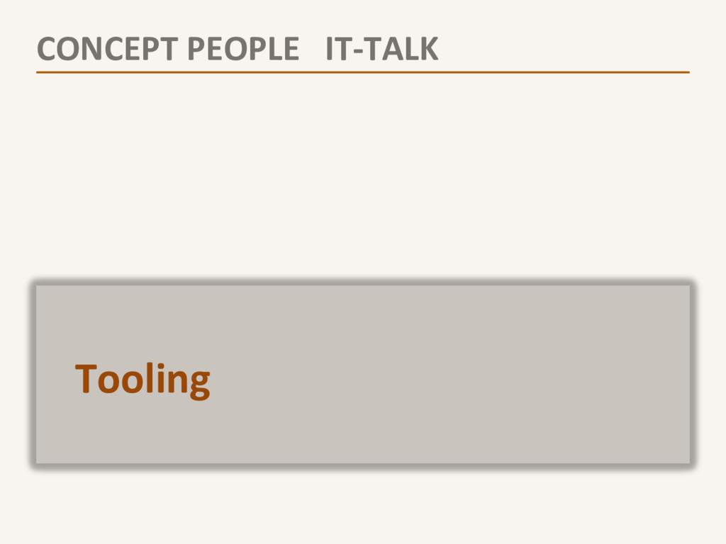 CONCEPT PEOPLE   IT-‐TALK   ...