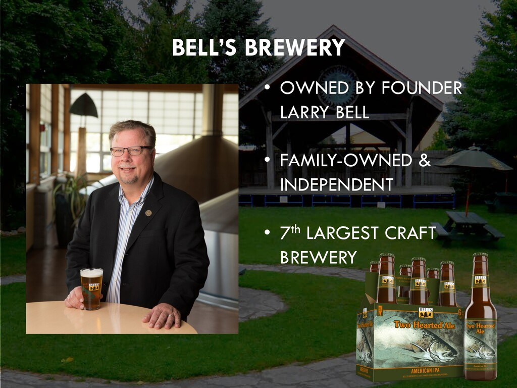 Click to edit Master title style BELL'S BREWERY...
