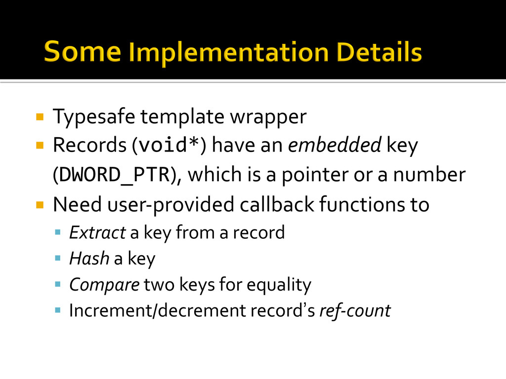 ¡ Typesafe template wrapper  ¡ Rec...