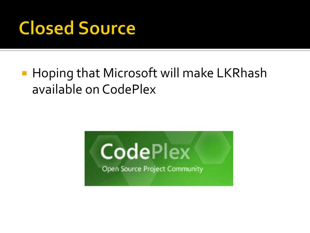 ¡ Hoping that Microsoft will make...