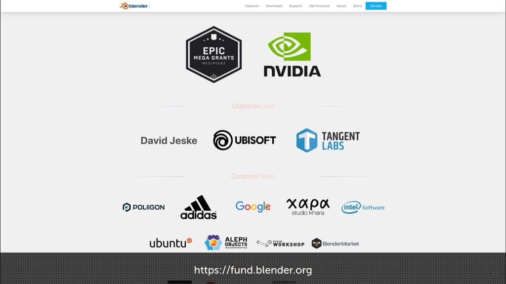 https://fund.blender.org
