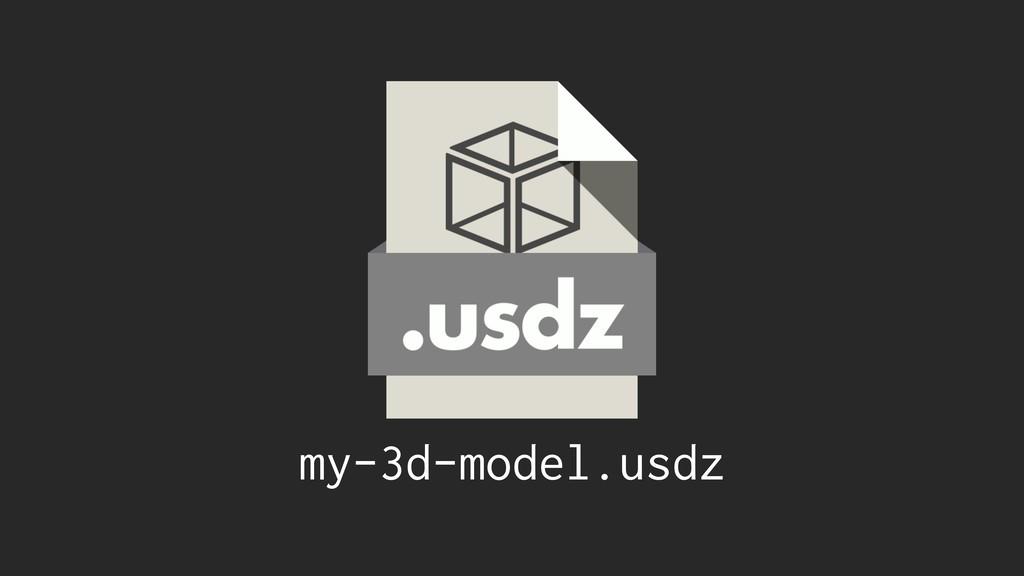 my-3d-model.usdz