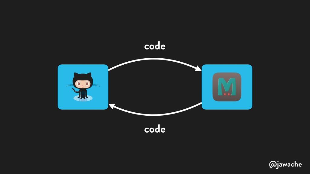 code code @jawache