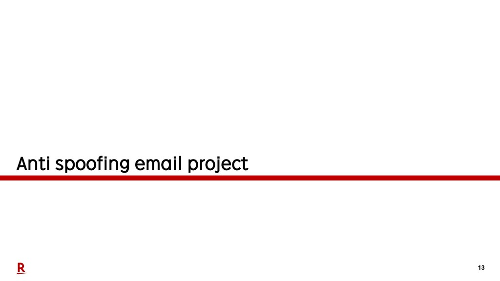 13 Anti spoofing email project