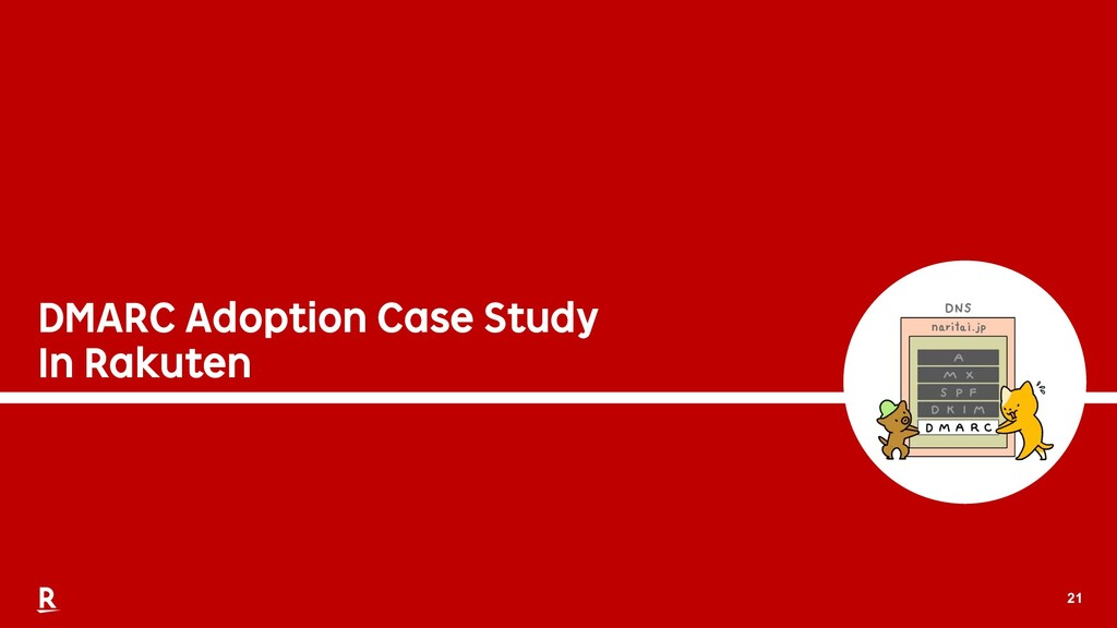 21 DMARC Adoption Case Study In Rakuten