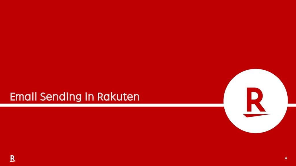 4 Email Sending in Rakuten