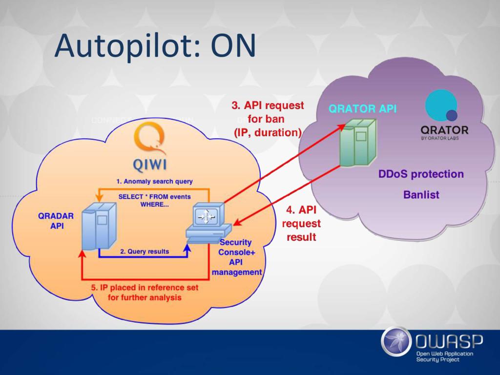 Autopilot: ON