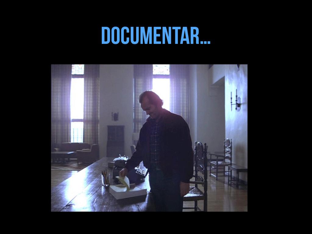 Documentar…