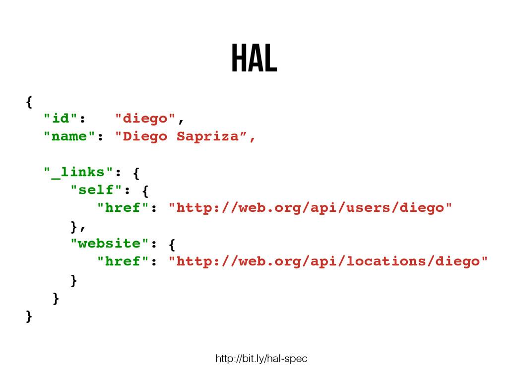 "HAL http://bit.ly/hal-spec { ""id"": ""diego"", ""na..."