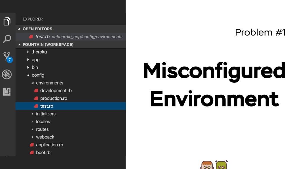 Problem #1 Misconfigured Environment TODO: карти...