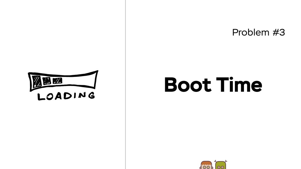 Problem #3 Boot Time