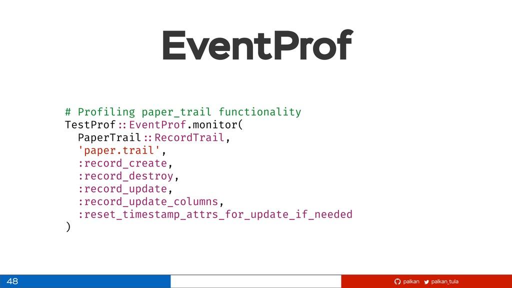 palkan_tula palkan EventProf 48 # Profiling pap...