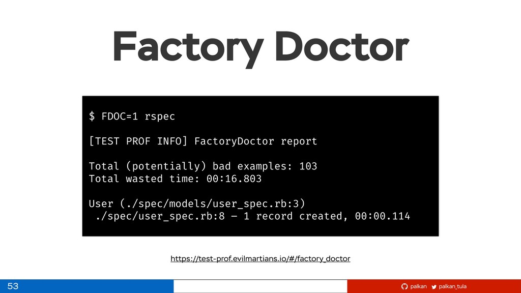 palkan_tula palkan Factory Doctor 53 $ FDOC=1 r...