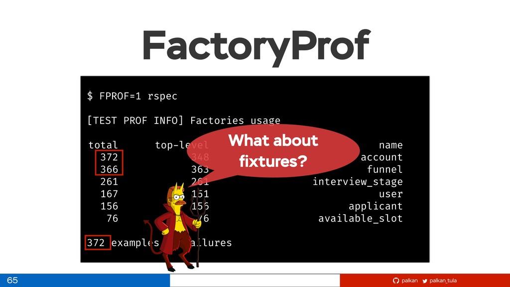 palkan_tula palkan FactoryProf 65 $ FPROF=1 rsp...