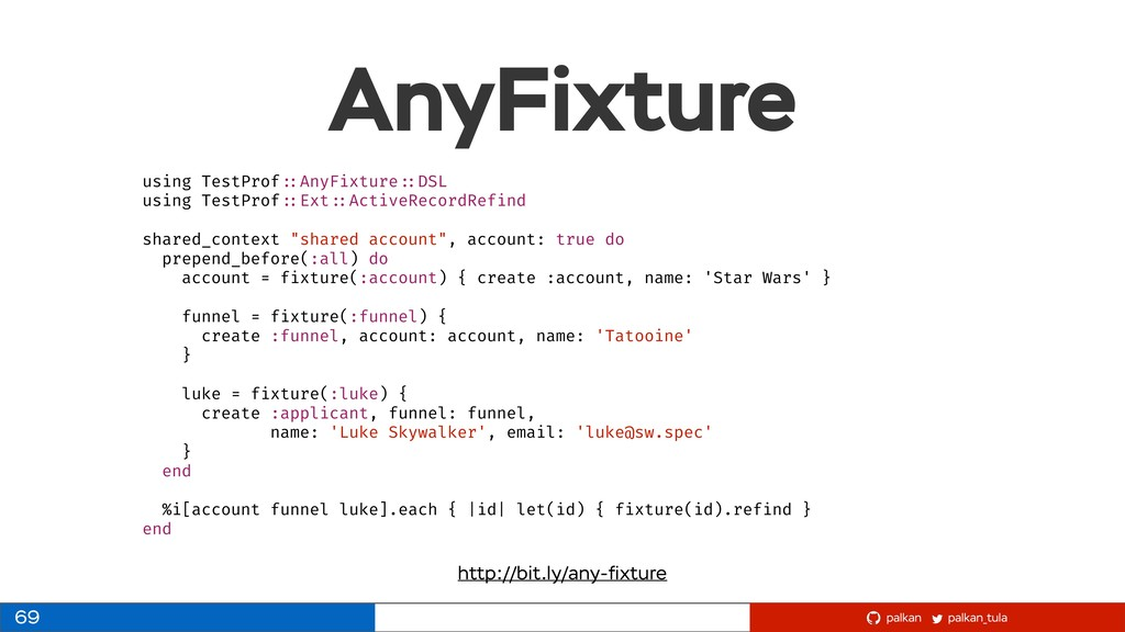 palkan_tula palkan AnyFixture 69 using TestProf...