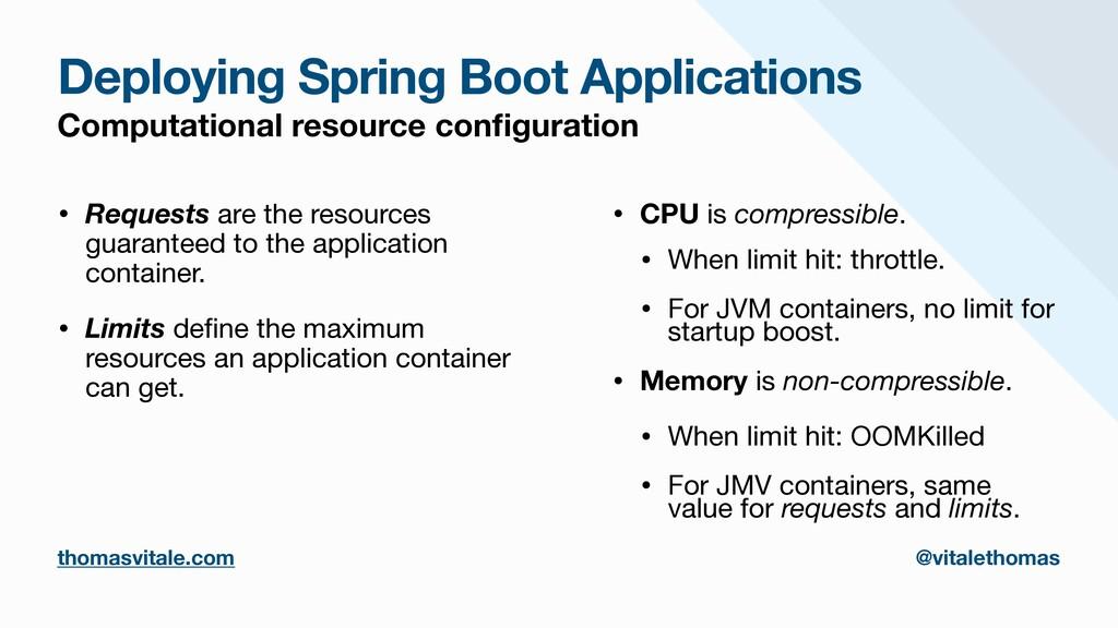 Deploying Spring Boot Applications Computationa...