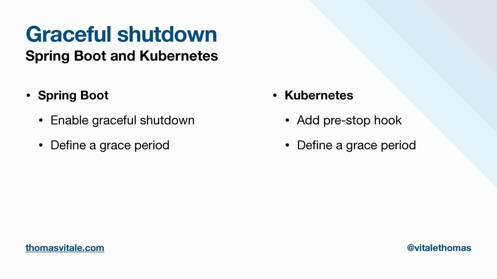 Graceful shutdown Spring Boot and Kubernetes • ...