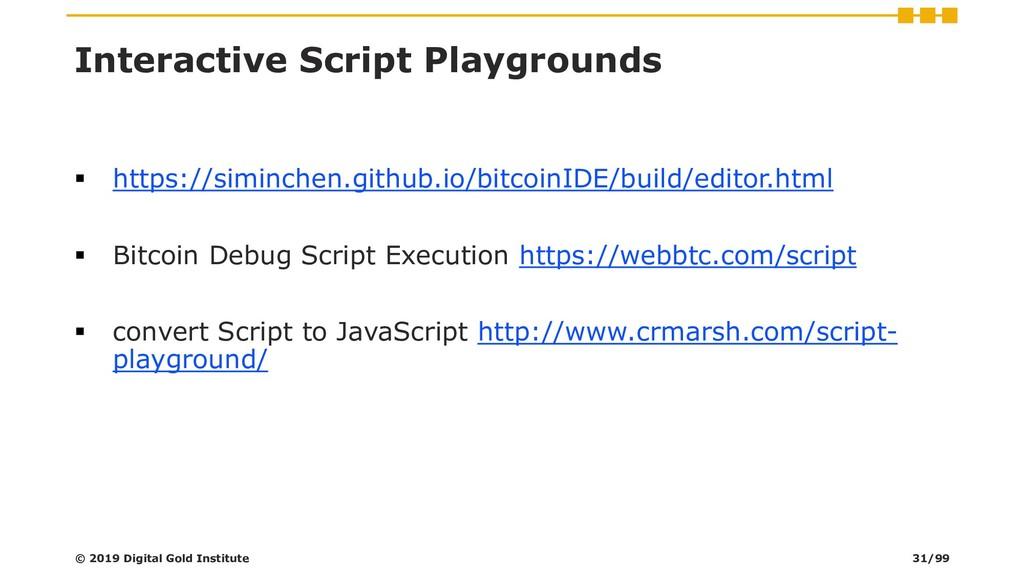 Interactive Script Playgrounds ▪ https://siminc...