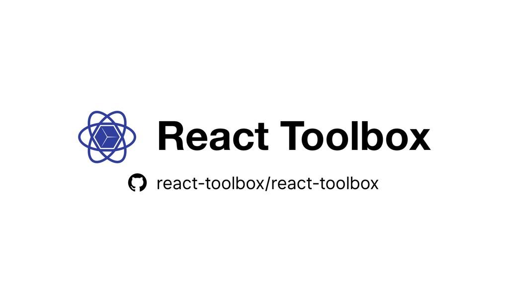 react-toolbox/react-toolbox