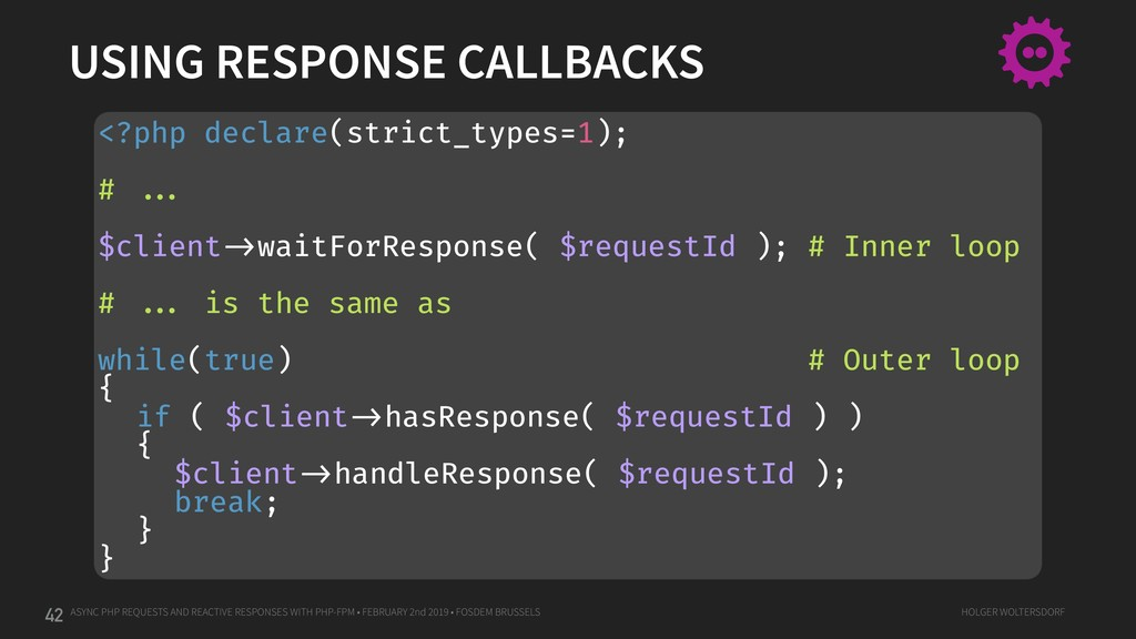 ASYNC PHP REQUESTS AND REACTIVE RESPONSES WITH ...
