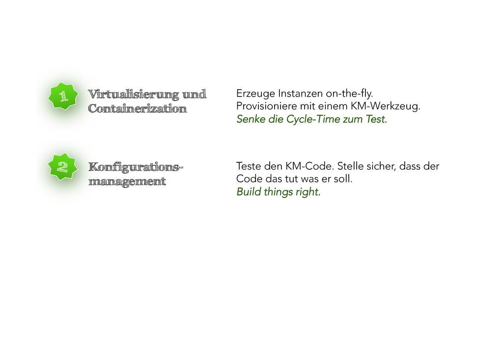 Virtualisierung und Containerization Erzeuge In...