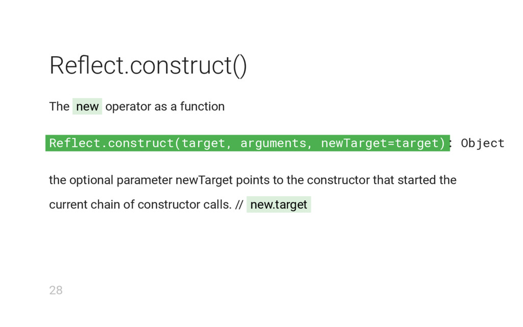 Reflect.construct(target, arguments, newTarget=...