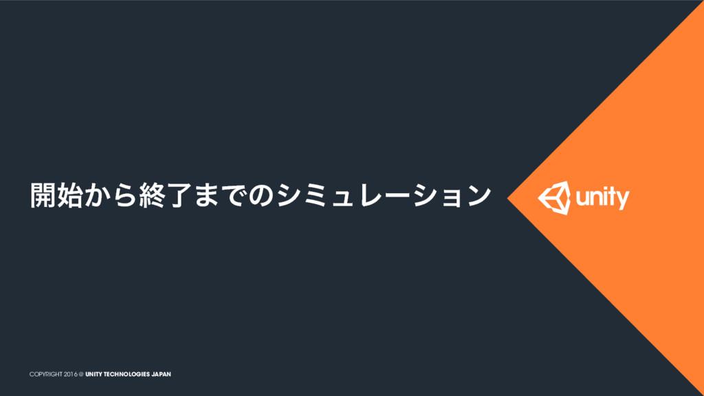 COPYRIGHT 2016 @ UNITY TECHNOLOGIES JAPAN ։͔Βऴ...